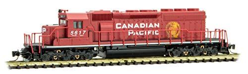 Micro-Trains MTL Z-Scale EMD SD40-2 Locomotive Canadian Pacific/CP Rail #5617