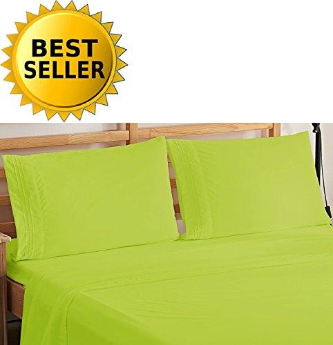 Elegant Comfort Bedding Luxury 4-Piece Bed Sheet Set 1500 Th
