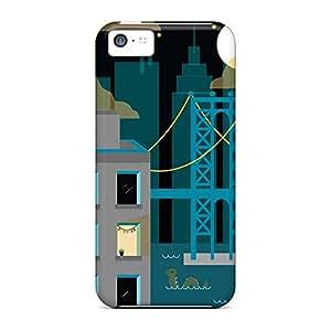 iphone 5c Hot mobile phone skins series Appearance brooklyn night