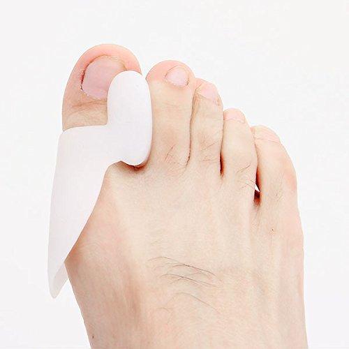 allux valgus orthotics Toe separator corrective insoles Toes cloven device