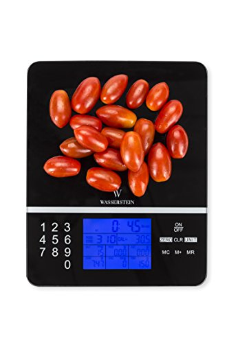 Digital Nutrition Scale; Nutrition Facts Display Scale - Professional Food and Nutrient Calculator by Wasserstein