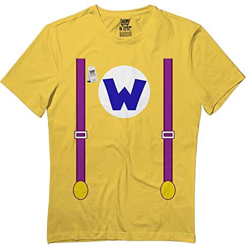 Yellow W-Villain Suspenders Halloween Cute Matching Team T
