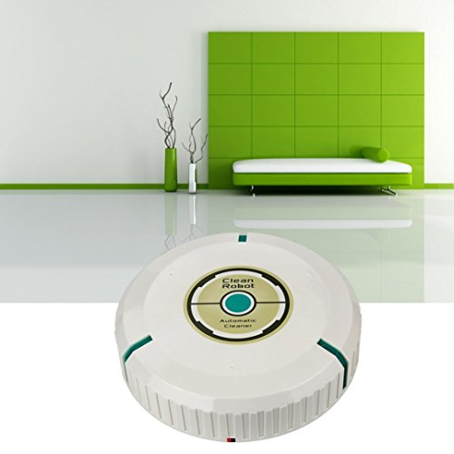 Automatic Robotic Dust Vacuum Cleaner (White) - 6