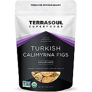 Terrasoul Superfoods Organic Turkish Figs (Calimyrna), 2 Lbs - No Added Sugar | Unsulphured | Perfectly Dried