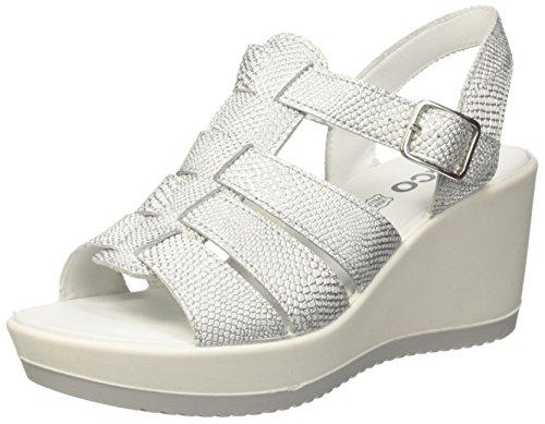 IGI Women's DSC 11778 Open Toe Sandals Silver (Argento 11) cheap finishline outlet recommend cheap low cost for sale official site 7Cs1J