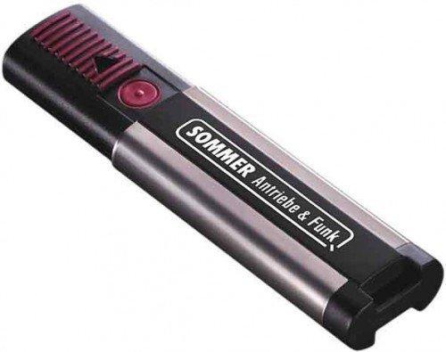 Control remoto para abrir la puerta del garaje color negro Sommer 4020 TX03 868-4 4