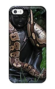 Awesome GNXBseo3554YjUOC ZippyDoritEduard Defender Tpu Hard Case Cover For Iphone 5/5s- Snake On A Buddha
