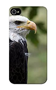 Gijatf-643-oxagrdb Tpu Phone Case With Fashionable Look For Iphone 5/5s - Animal Bald Eagle Case For Christmas Day's Gift