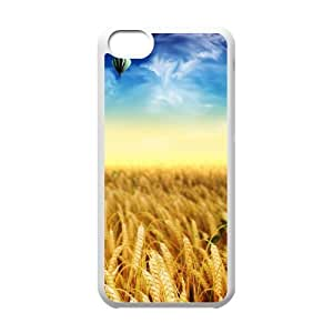 Charming scenery Customized Cover Case with Hard Shell Protection for Iphone 5C Case lxa#225489