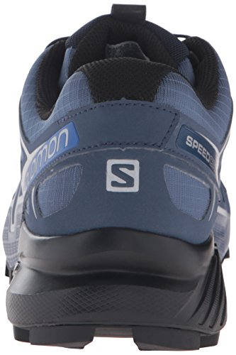 Mens Salomon Speedcross 4 Trail Runner Ardesia Blu / Nero / Blu Là