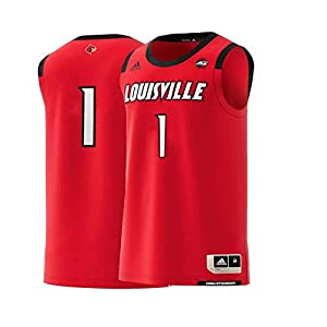 adidas Louisville Cardinals NCAA Men's Swingman Basketball Jersey