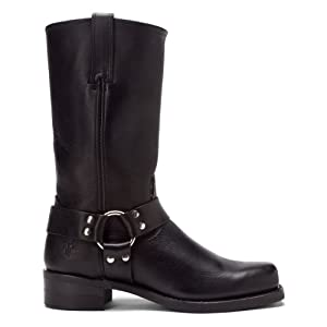 FRYE Men's Harness 12R Boot,Black,11 M US