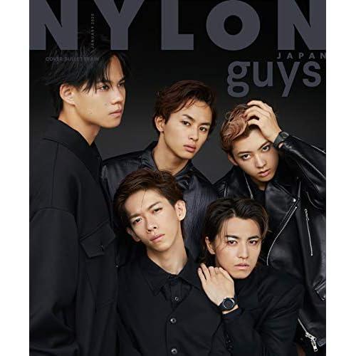 NYLON JAPAN guys 2020年1月号 表紙画像