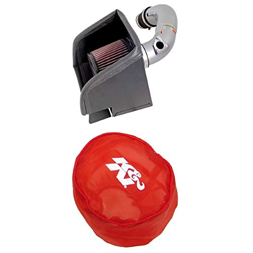 K&N 69-8613TS Performance Air Intake System with Red Air Filter Wrap