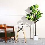 Fopamtri Artificial Fiddle Leaf Fig Tree 5.3 Feet