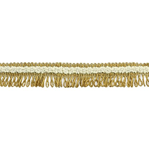 Loop Fringe - BELAGIO Enterprises BF-1617 Burlap Lace Loop Fringe Trim