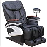 Black Full Body Shiatsu Massage Recliner Chair heater foot rest salon spa office home