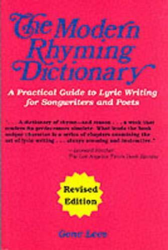 The Modern Rhyming Dictionar