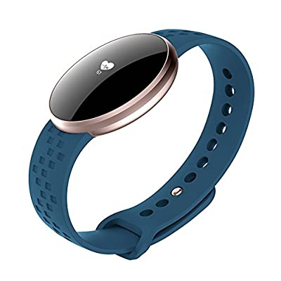 Women's Smart Watch for iPhone Android Phone with Fitness Sleep Monitoring Waterproof Remote Camera GPS Auto Wake Screen