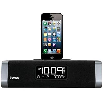3rdEye iHome iPhone & iPad Docking Clock Radio Wireless WiFi IP Hidden Spy Surveillance Nanny Cam Camera With Internet Live View And Built-In DVR That Records To SD Card With 32GB SD Card Included from 3rd Eye Electronics  USA