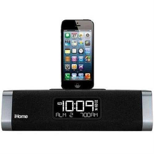 3rdEye iHome iPhone & iPad Docking Clock Radio Wireless WiFi IP Hidden Spy Surveillance Nanny Cam Camera With Internet Live View And Built-In DVR That Records To SD Card With 32GB SD Card Included