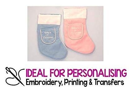 CyEshop Calcetines de Navidad Personalizados para bebé, para decoración de Navidad, Regalo para recién
