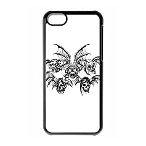 iPhone 5c Cell Phone Case Black Avenged Sevenfold elri