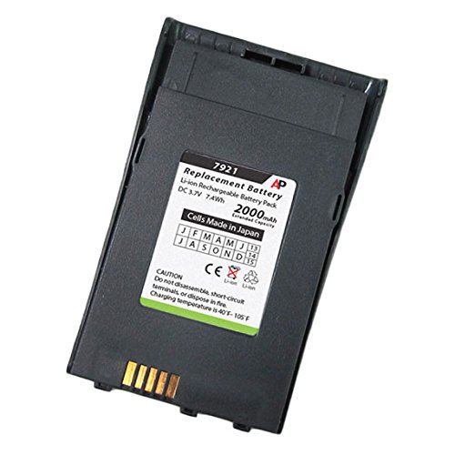 Extended Cordless Phone Battery - Cisco 7921G Phone Replacement Battery. Extended Capacity 2000 mAh