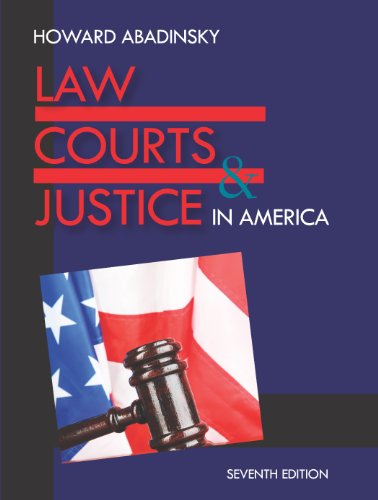 Download Law, Courts, and Justice in America Pdf