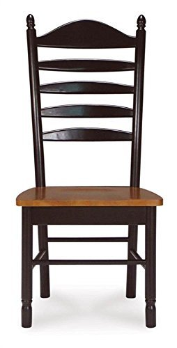Madison Park Ladder-Back Chair w Solid Wood Seat - Set of ()