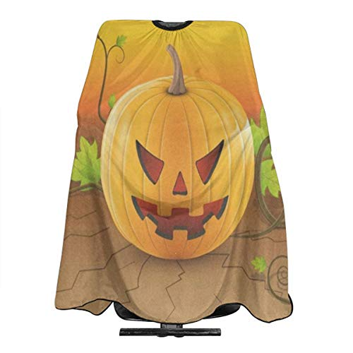 Hallowen Pumpkin Salon Hair Cutting Cape Cloth Fantastic Perm Apron For Profession Barbershop]()