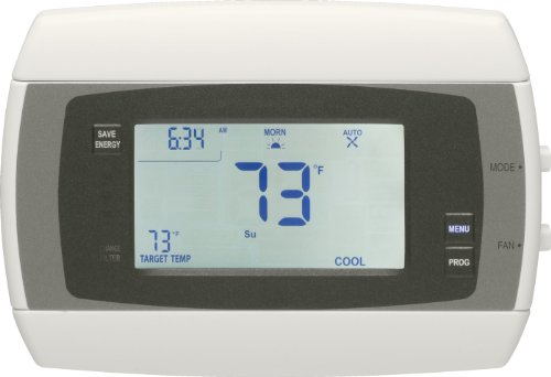 Radio Thermostat Company of America CT30e.C1.1.99.simple Programmable Communicating Thermostat without Module, White