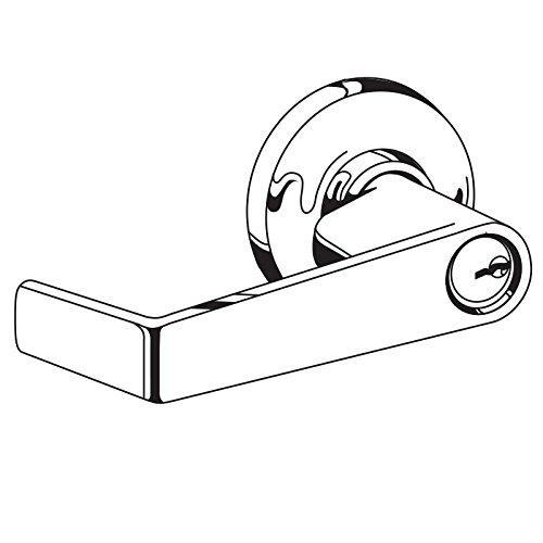 Schlage AL50LD SAT 612 Cylindrical Lock 9.5 Length 9.5 Length