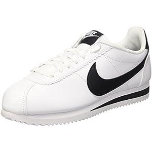 Nike Wmns Classic Cortez Leather, Scarpe da Fitness Donna