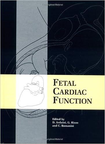Fetal Cardiac Function