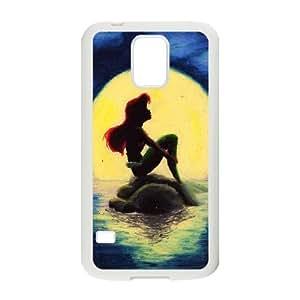 Diy Beautiful Mermaid Phone Case for samsung galaxy s5 White Shell Phone JFLIFE(TM) [Pattern-1] by ruishername