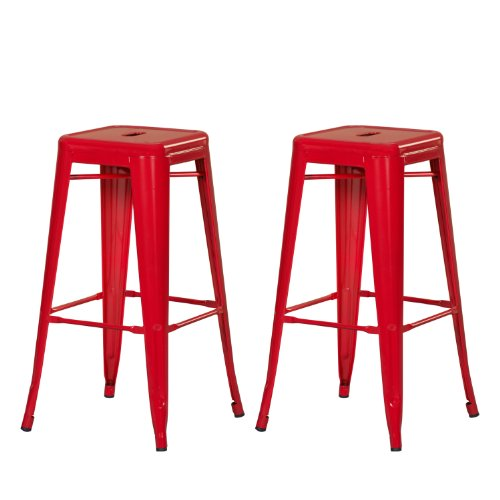 DecentHome Stackable Backless Counter Stools product image
