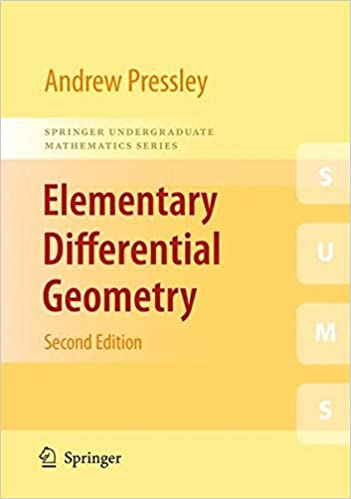 Elementary Differential Geometry Oneill Pdf