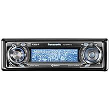 Panasonic CQ-CB8901U High Definition Radio/ MP3/WMA with Motorized Customizable 3D Graphics Display (50W X 4)