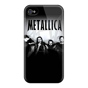 NrB8585goCn Cases Covers Protector For Iphone 4/4s Metallica Cases