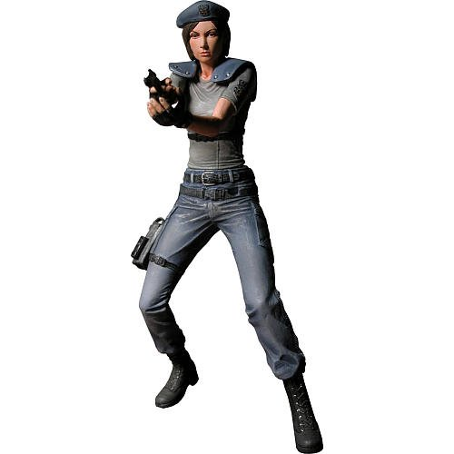 Resident Evil Archives Jill Valentine Special Ops Black Outfit