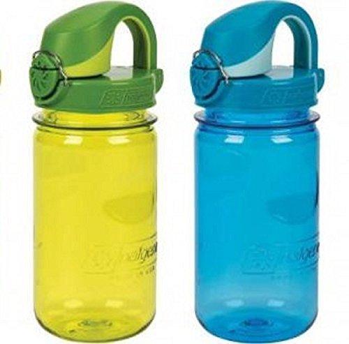 Nalgene On The Fly Kids Bottle Set of 2 Blue / Green Fly Water Bottle