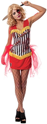 Rubie's Costume Co Women's Knife Thrower's Assistant Costume, Multi, Medium
