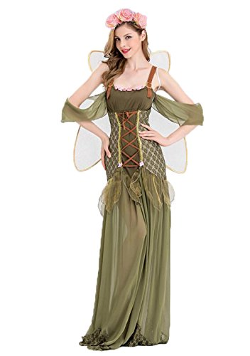 Fairy Costume For Women - Forest Princess Costume Adult Halloween Fairy -
