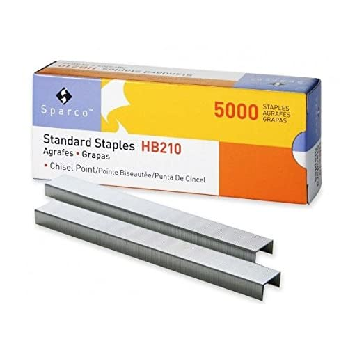SPRHB210 - Sparco Chisel Point Standard Staples