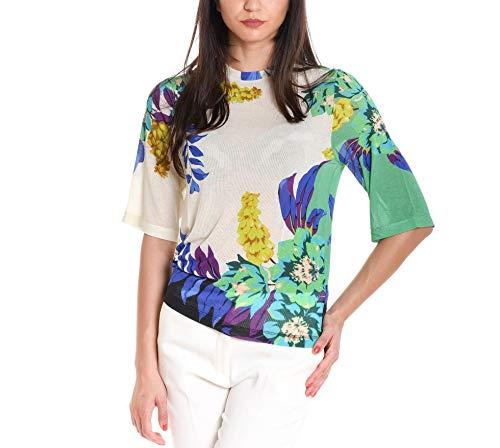 verde Etro T shirt Bianco Donna Viscosa 180269496500 vU7OwUqY