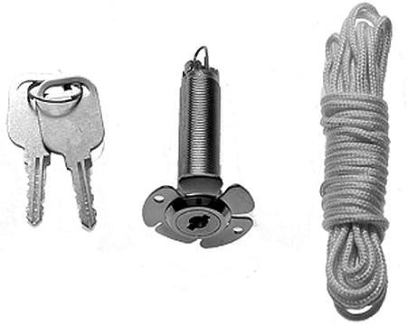 Hörmann 437149 NET3 - Sistema de desbloqueo de emergencia (13 mm, cuerda de 1,5 m, para puertas seccionales de doble pared)