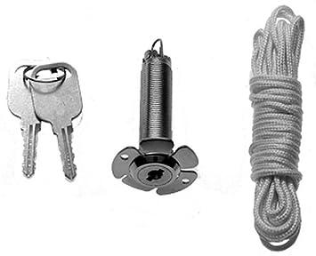 Hormann 437149 Notentriegelung Net3 13mm 1 5m Seil F Doppelw Sec