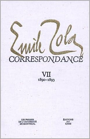 Livres gratuits Correspondance, tome 7 : 1890-1893 epub, pdf