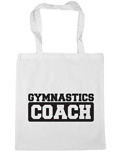 Shopping litres Gym Tote x38cm 10 White Gymnastics Beach 42cm Coach Bag HippoWarehouse B7nFHwttqx